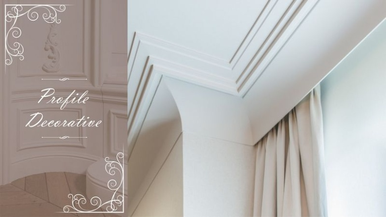 Amenajari interioare Elite Interior - profile decorative